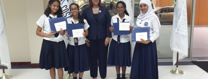 Naps girls shine at ACTT competition
