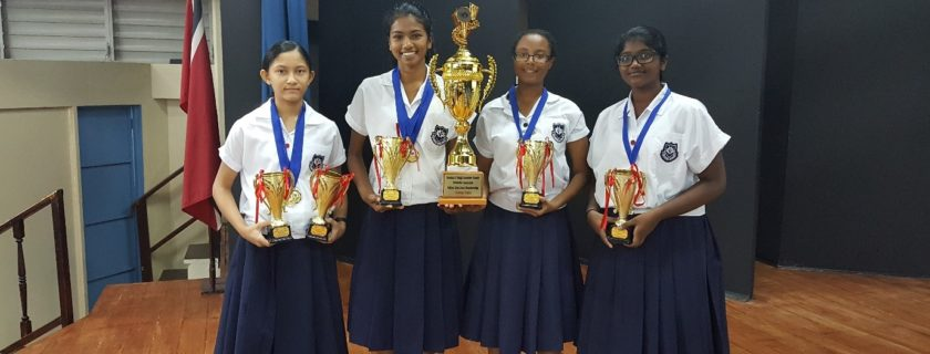 Victory at Secondary Schools Badminton Competition