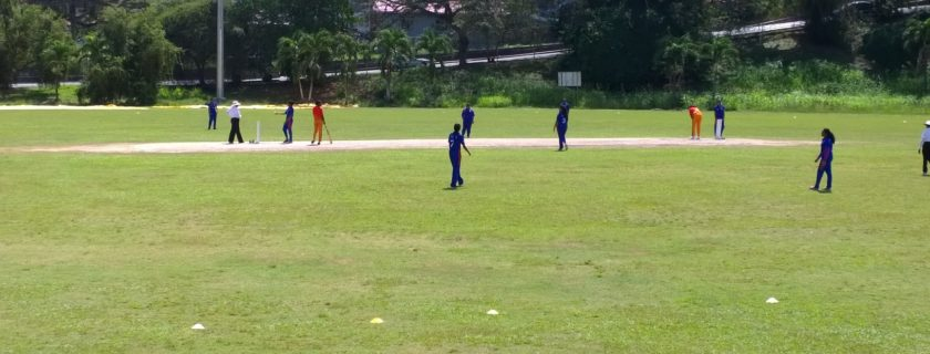 The NGHS Cricket team emerges victorious
