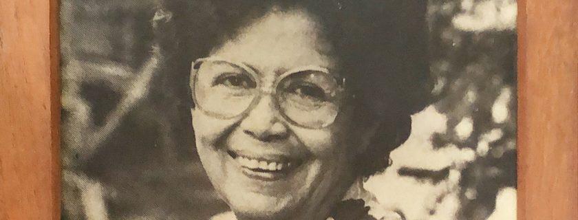 In loving memory of Mrs. Mavis Lee Wah