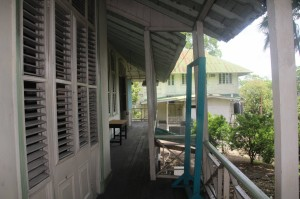 rear verandah of SMD